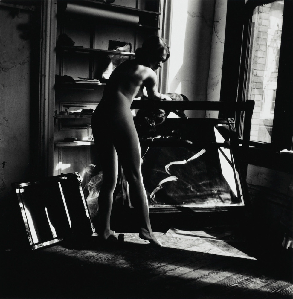 "Photo: A woman is a mirror for a man, from the series ""A Woman, A Mirror"" by Francesca Woodman (1958-1981)."