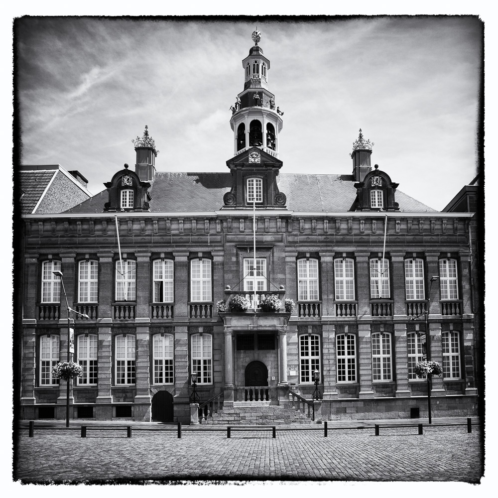Photo: Spanish Guelders' Reflections: Town Hall Roermond (16th Century).