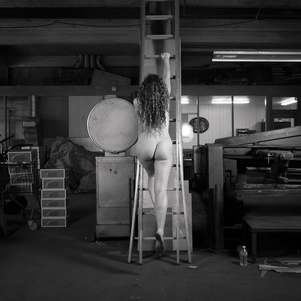 Photo: The Ladder. Ella Rose, by Barend Jan de Jong.