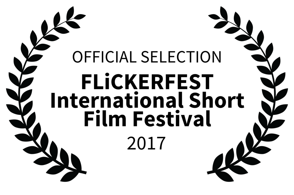 Laurels - Official Selection FLiCKERFEST International Short Film Festival 2017 (black on white trans).png