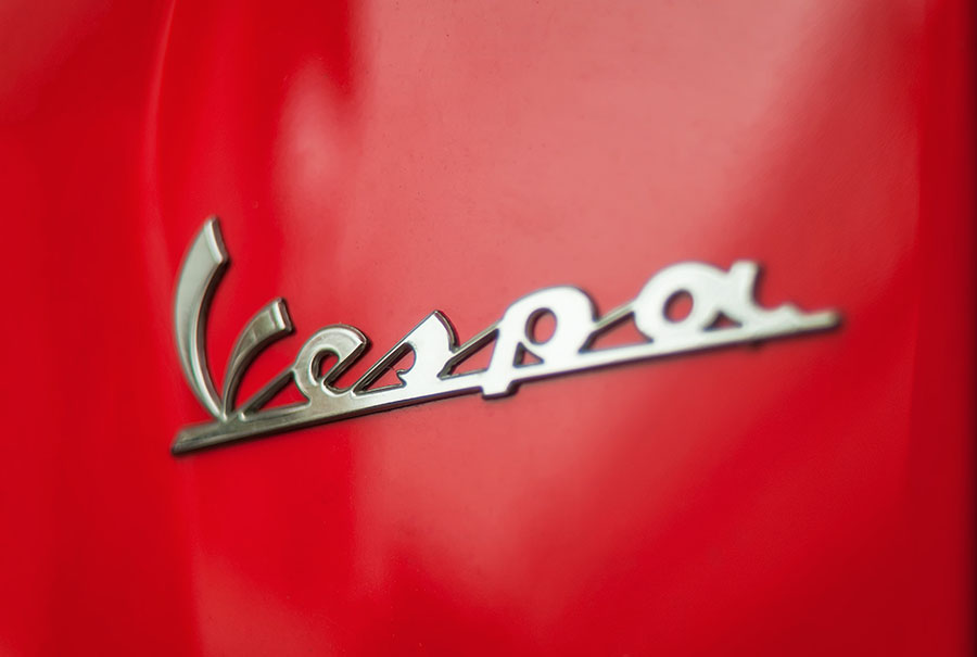 263/366 • The Red Vespa