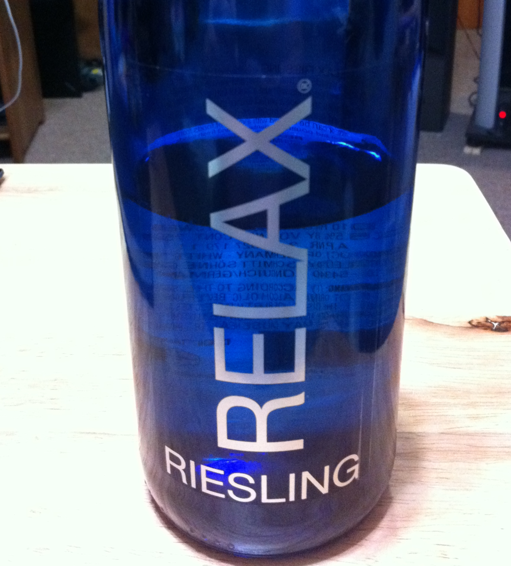 Featured Wine: Relax Riesling 2010