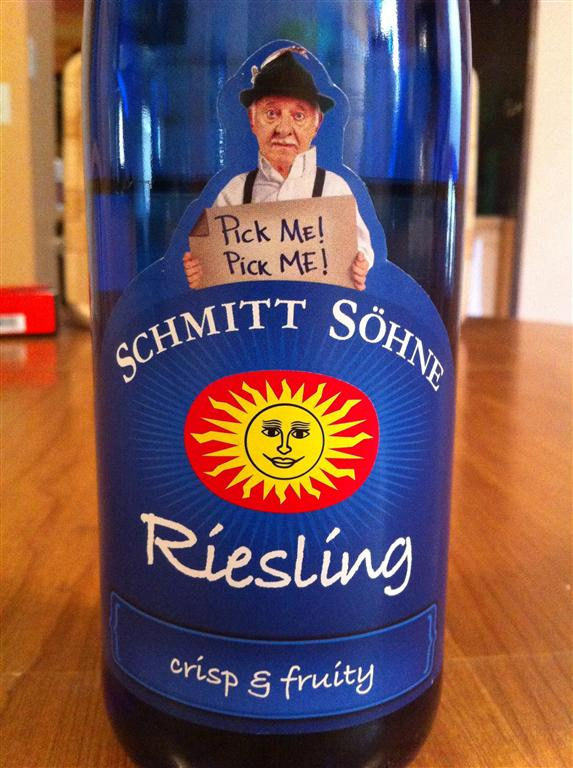 Featured wine Schmitt Sohne Riesling 2009