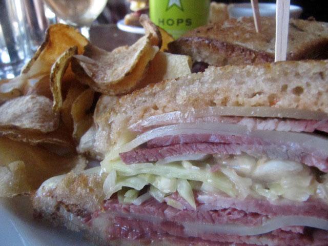 Smithfield's Pastrami Sandwich