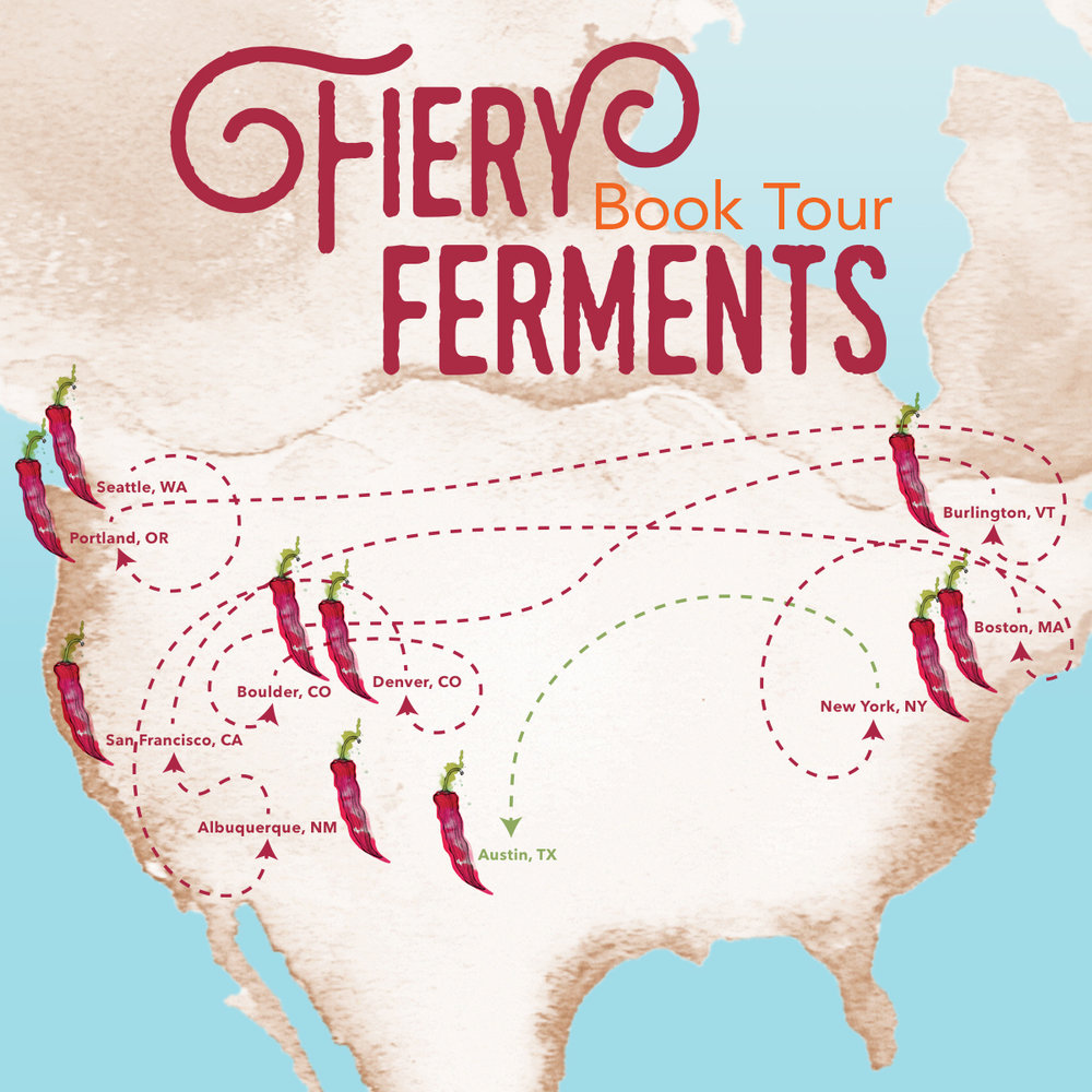 Fiery Ferments Tour 2017