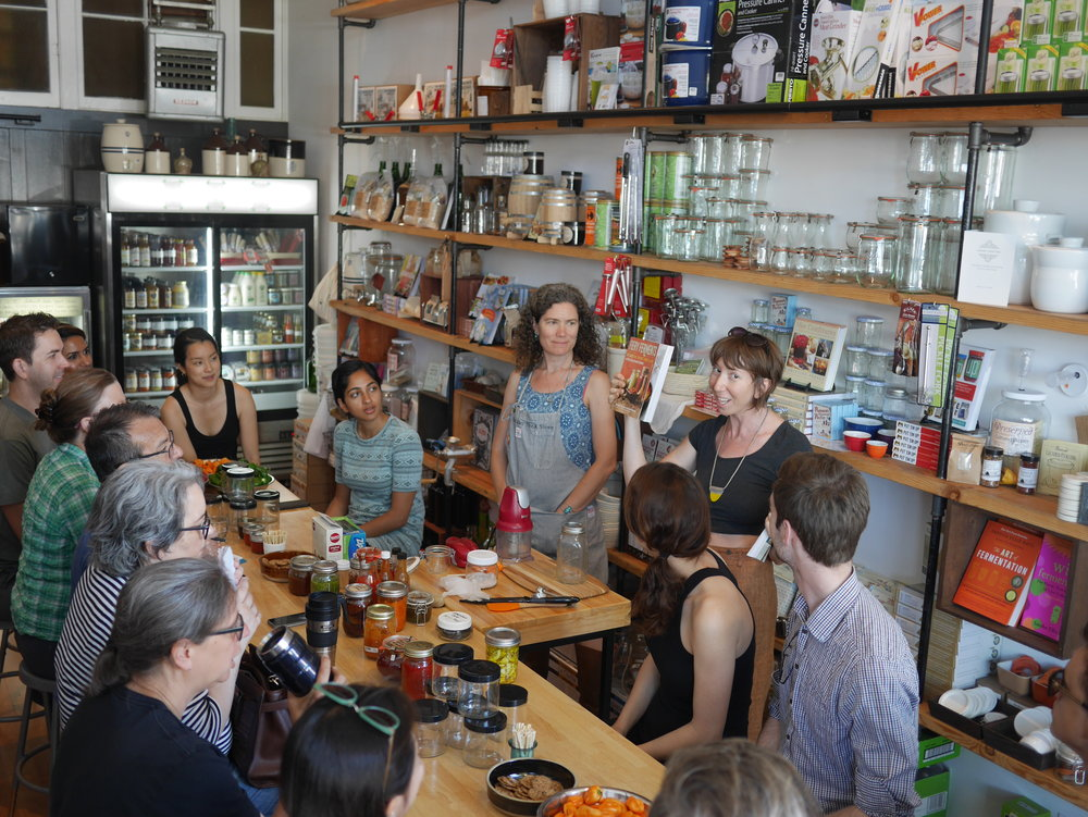 - At a most beautiful shop in Oakland, Preserved, teaching all-things-peppers to a great group.