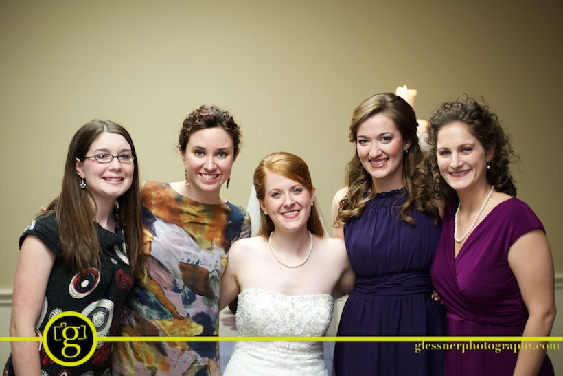 Ryan and Ashley's green and purple November wedding at Briar Hill Baptist Church in Florence, MS