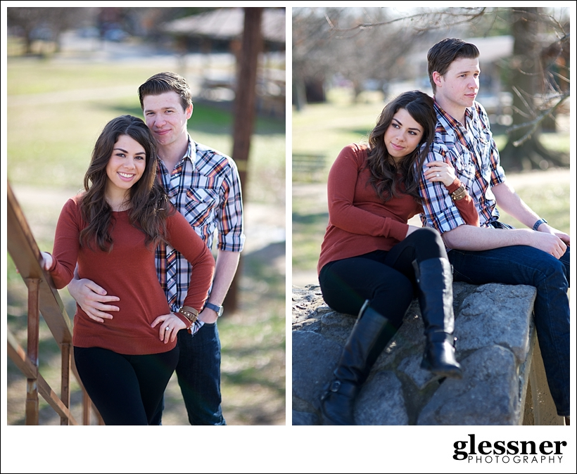 The Westbound Rangers Read and Kristin's Dragon Park engagement session in Nashville, TN by Glessner Photography