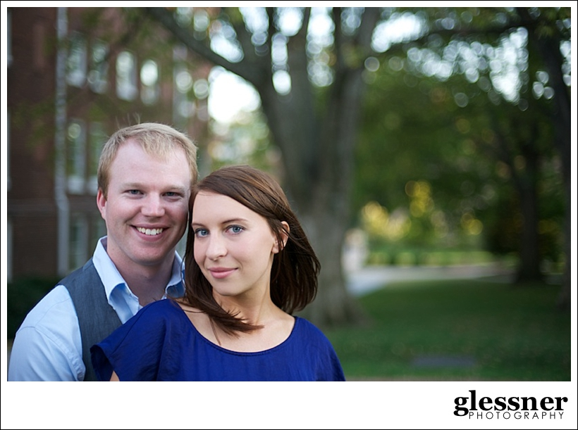 reasons to do an engagement session with Brittany and Jeff's Belmont University engagement session in Nashville, TN by Glessner Photography