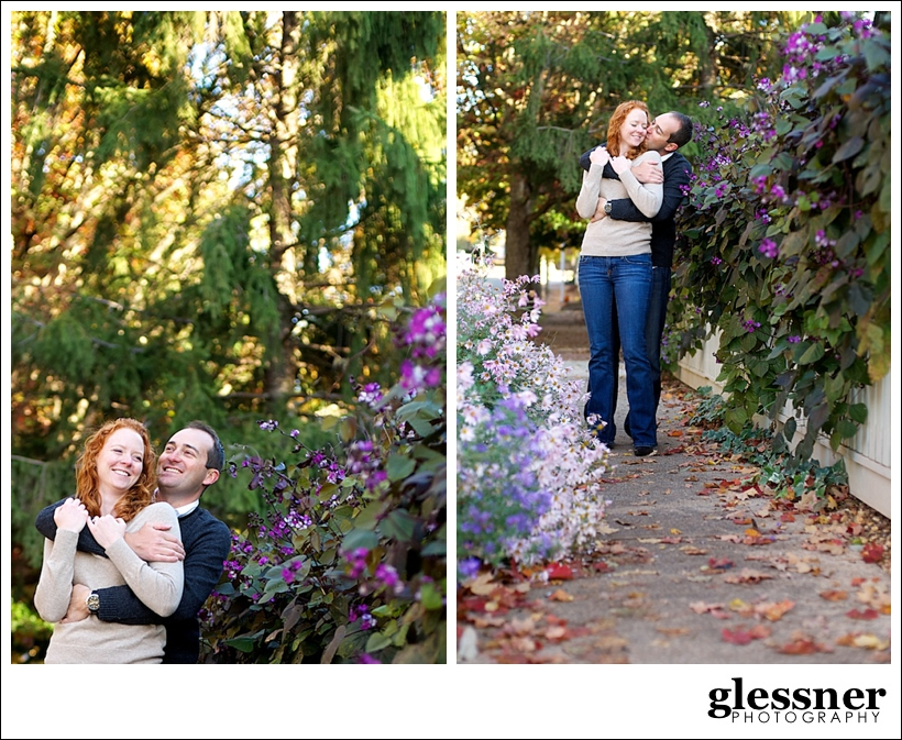 reasons to do an engagement session with Christi and Jeremy's Old Salem engagement session in Winston-Salem, NC by Glessner Photography