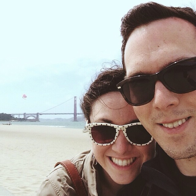 An  Instagram  shot from our anniversary trip to San Francisco last week. Watch out for a photo recap coming soon!