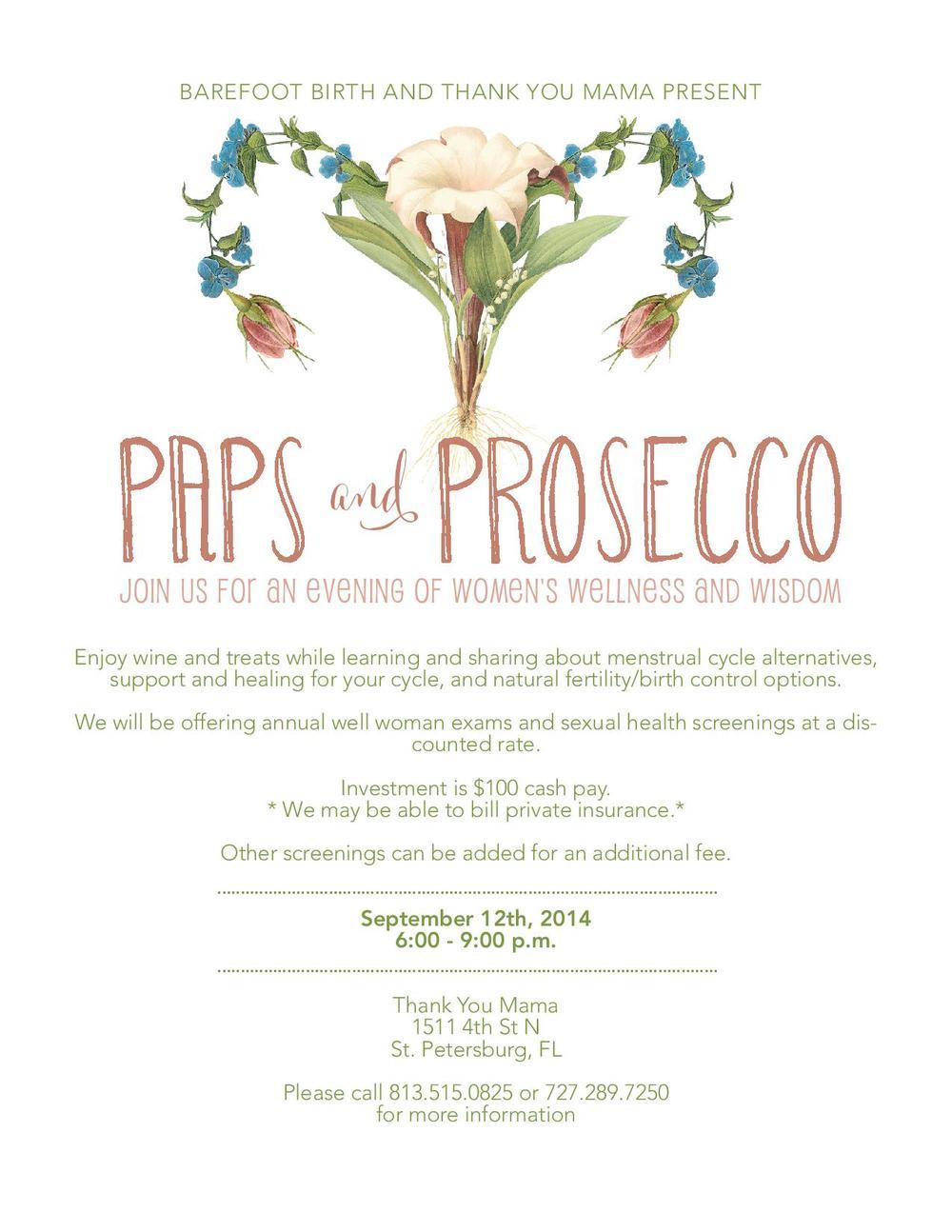 Paps & Prosecco