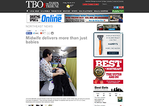 TBO | The Tampa Tribune Midwife delivers more than just babies