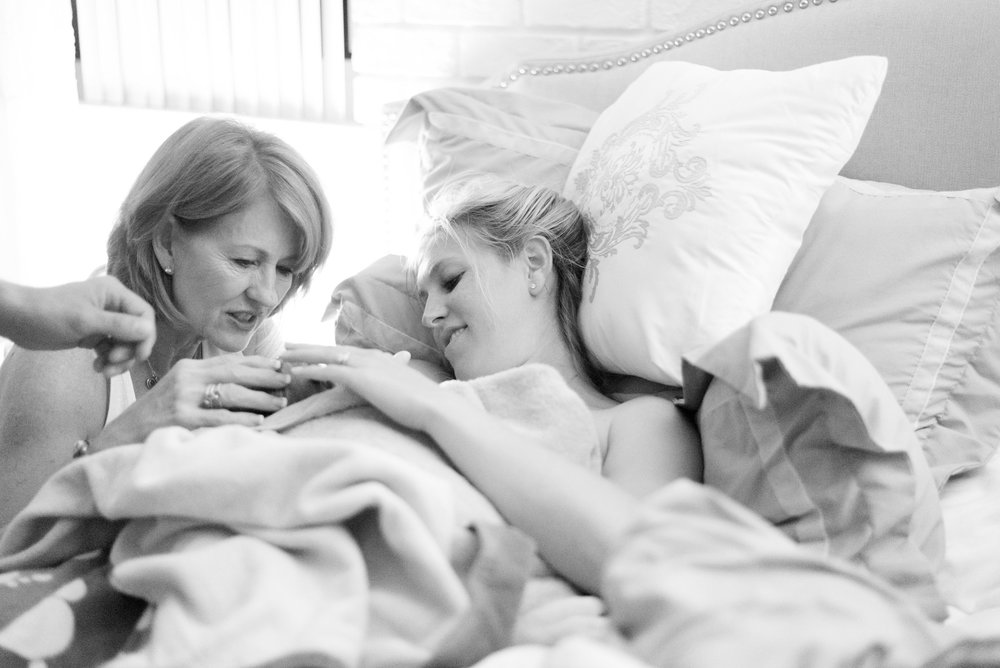 gorgeous home birth in st pete fl with midwife charlie rae young
