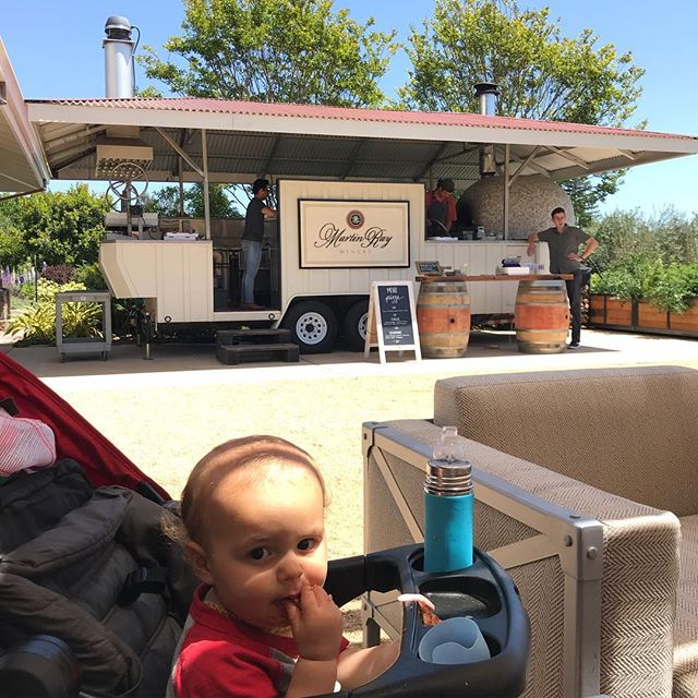 Oh yeah, you'll find us here every weekend #woodfiredweekends @martinraywinery #sonofachef #pizza #sonomacounty #pizzachef #pizzatruck