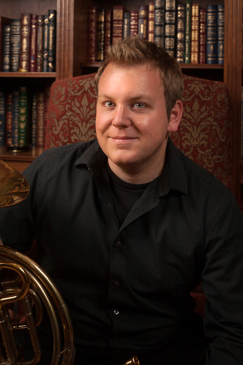 Mike Walker, French Horn, Artistic Director of Studio Forza