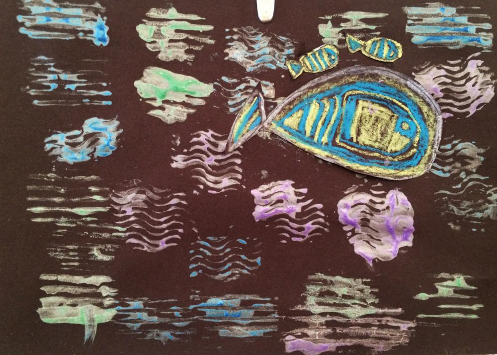 Paul Klee fish.