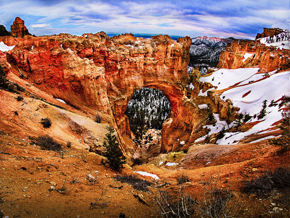 BRYCE CANYON'S NATURAL BRIDGE