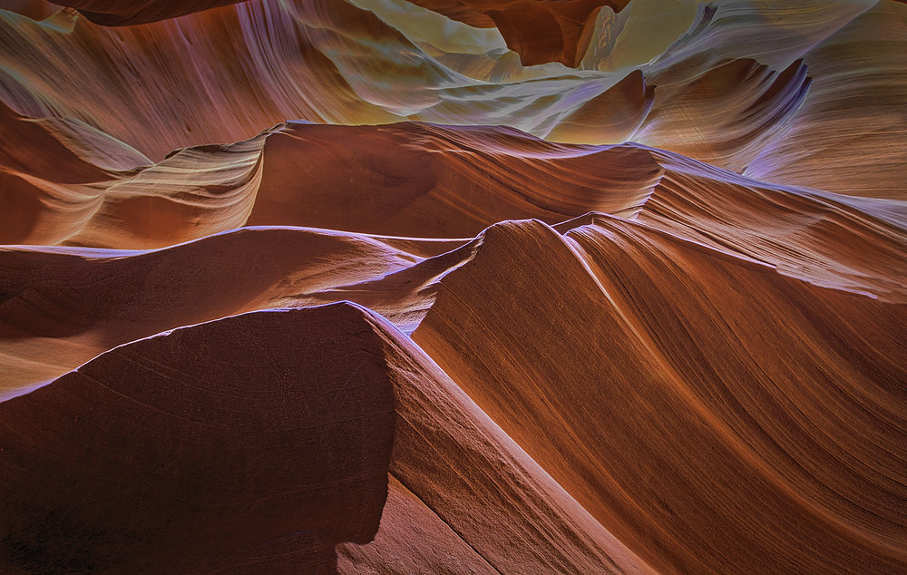 WAVES OF SANDSTONE