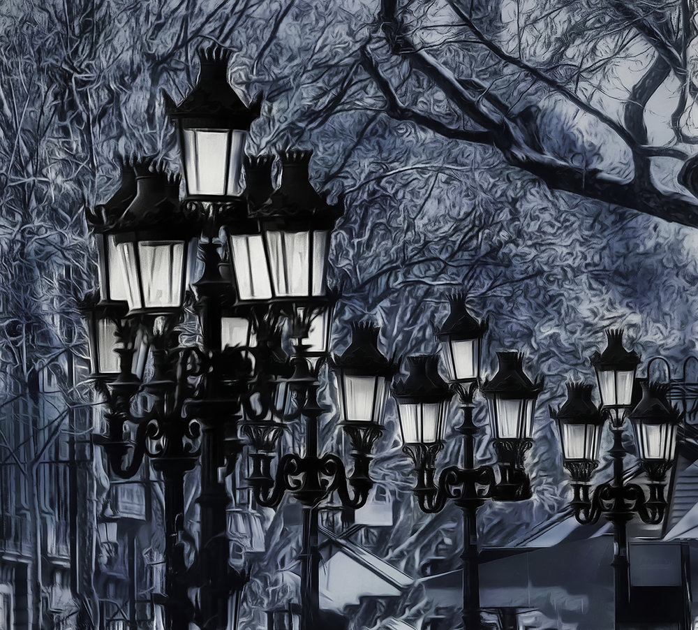 GAUDI'S LAMP POSTS