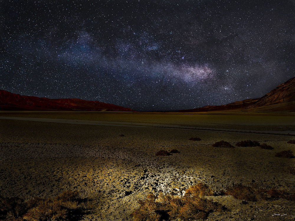A NIGHT IN DEATH VALLEY