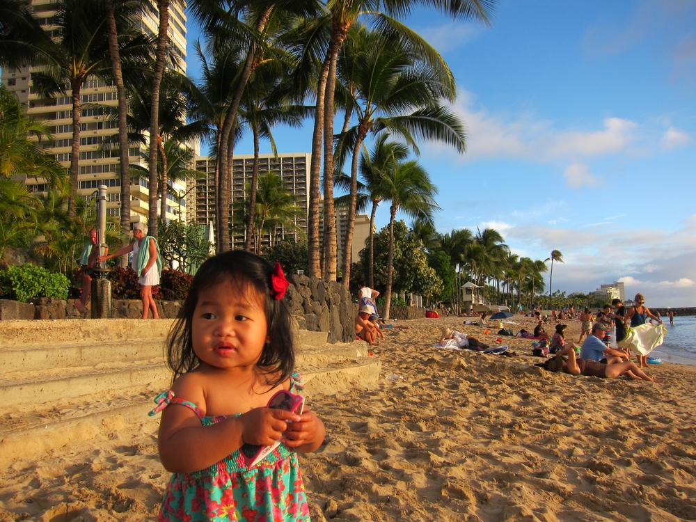 Mia on Waikiki Beach