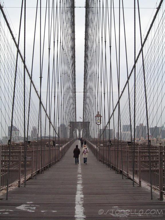 It's the Brooklyn Bridge!