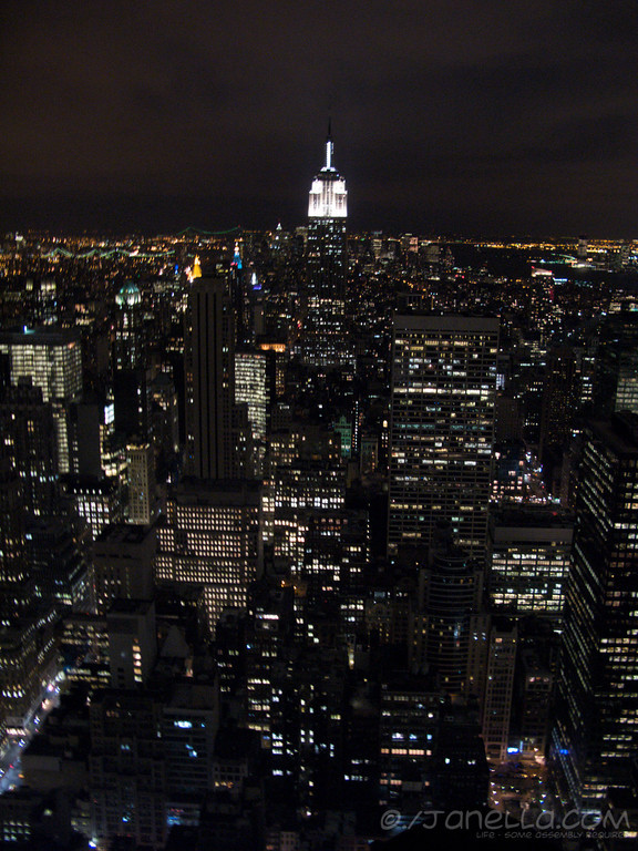 From the Top of the Rock