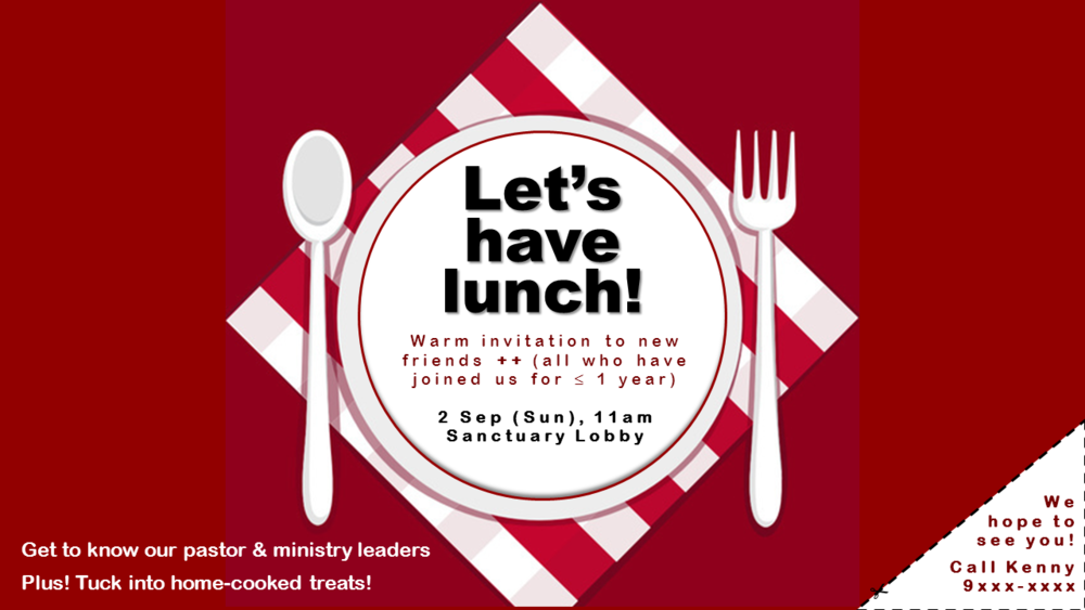 Lets have lunch_Sep2018