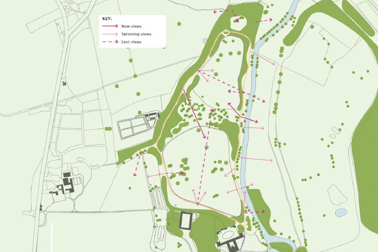 Attingham: TheMile Walk