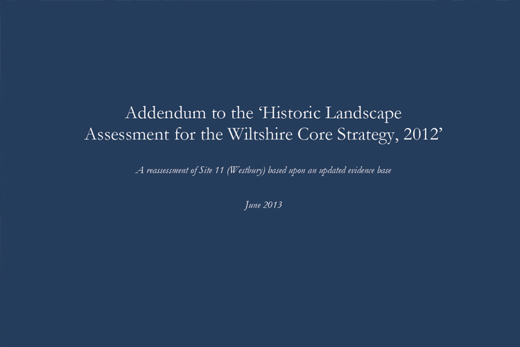 Wiltshire HLA Addendum