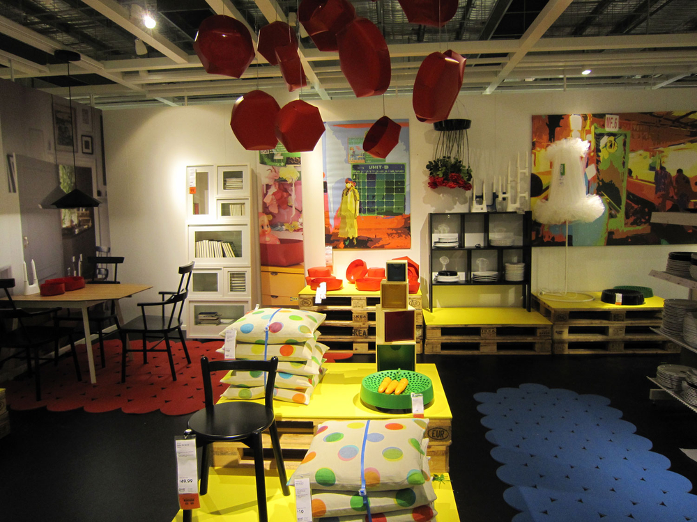 Items from IKEA's 2012 PS collection.