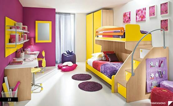 Children's bedroom, Eresem range by Colombini.