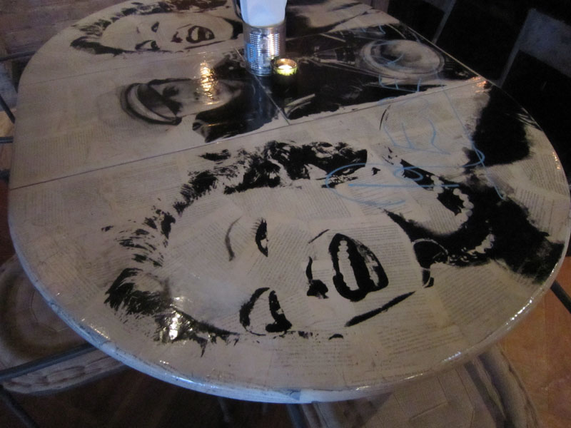 Marilyn tables