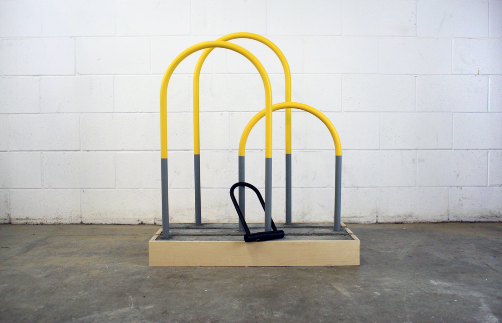 block bike rack
