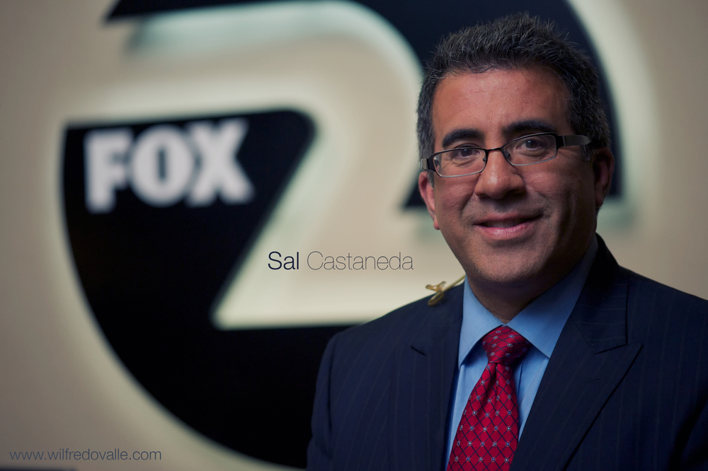 Sal Castaneda, Award Winning Reporter.