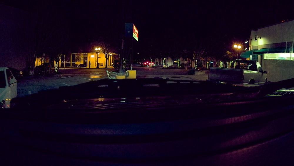 Single Frame graded in Apple Aperture. 8mm (after crop factor approx. 18mm, f4, ISO 1600)