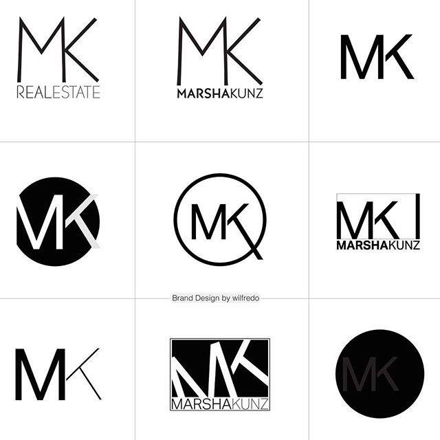 Can you guess which of these the client chose? #brandidentity #logo #identitydesign #designerlife