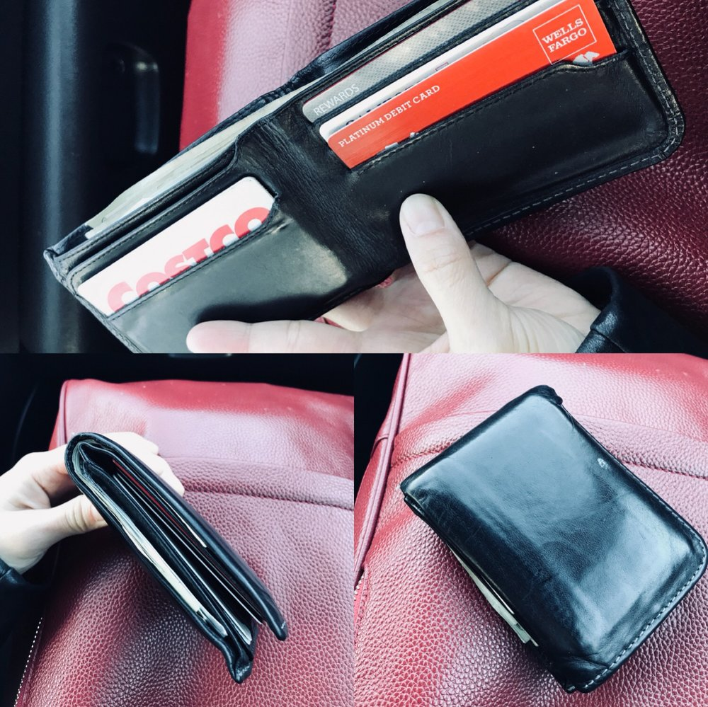 Snapshots of my boyfriend's current wallet
