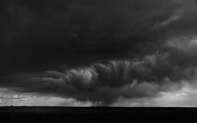 Rain east of Calgary City Limits -10 June 2014