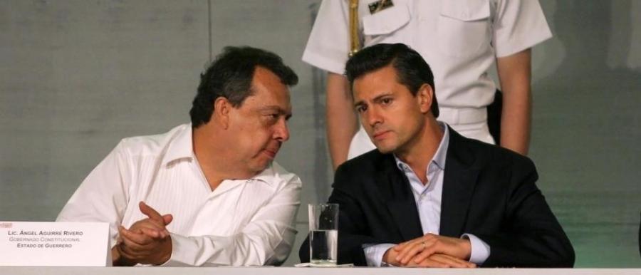 Ángel Aguirre y Enrique Peña Nieto