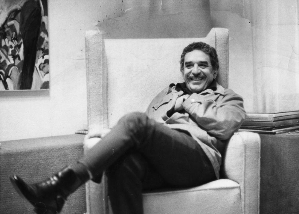 Gabriel Garcia Marquez en 1976