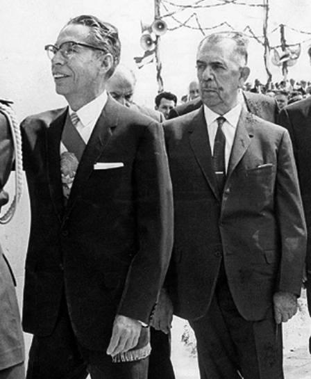 Gustavo Díaz Ordaz y Lázaro Cárdenas
