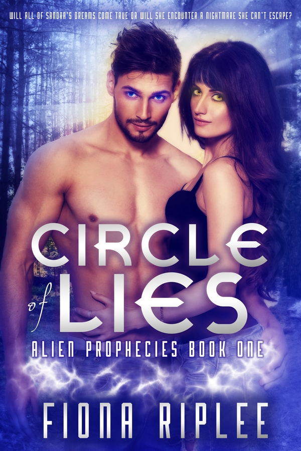 Circle of Lies by Fiona Riplee Book cover design by Sweet 'N Spicy Designs
