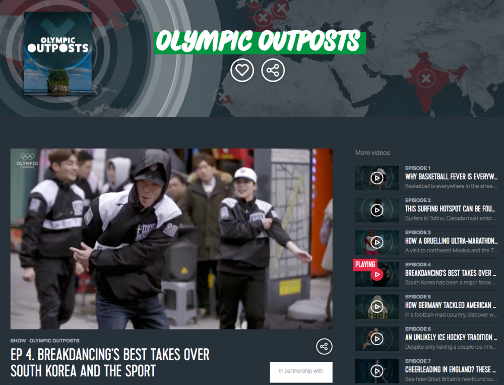 OLYMPIC OUTPOSTS -