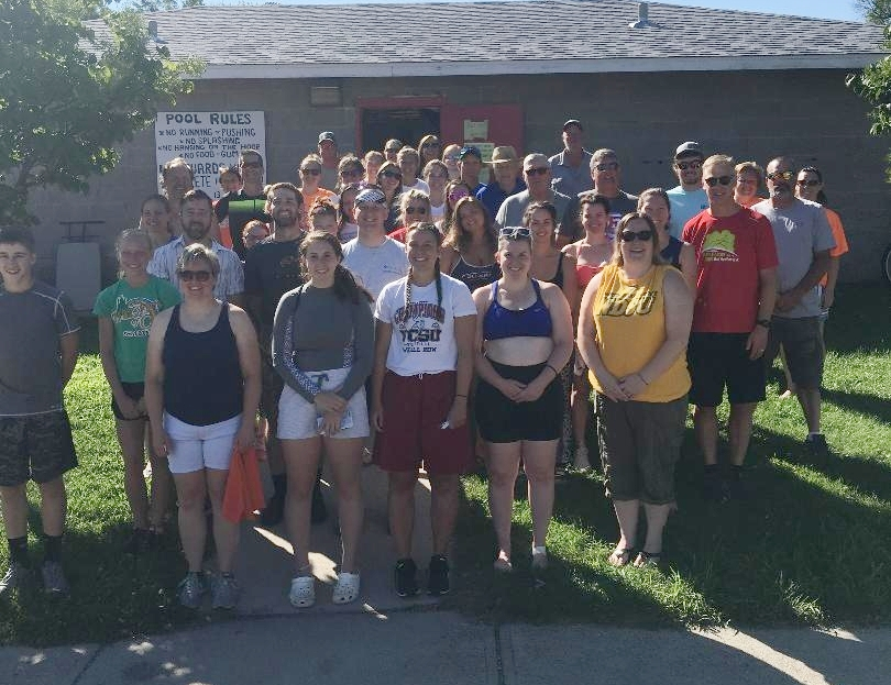 2nd Annual Enderlin Splash N Dash Triathlon, Participants and Volunteers