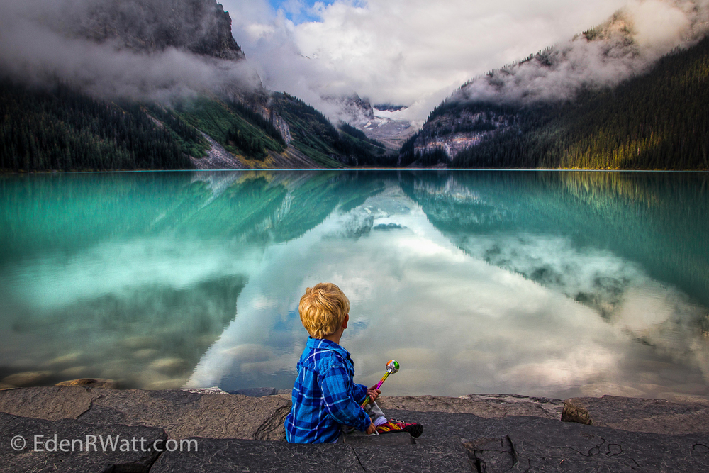 Lake Louise Magic by Eden Watt