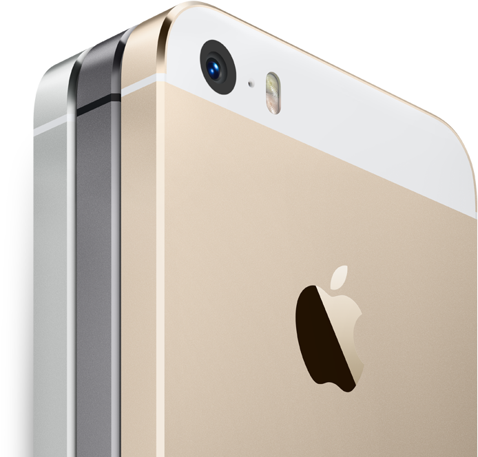 The iPhone 5s on Apple.com