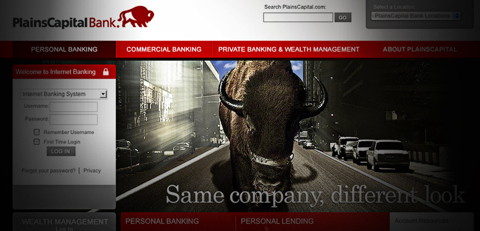 Newly relaunched PlainsCapital.com