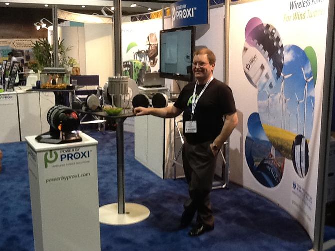 PowerbyProxi Trade Show Booth: Atlanta, GA